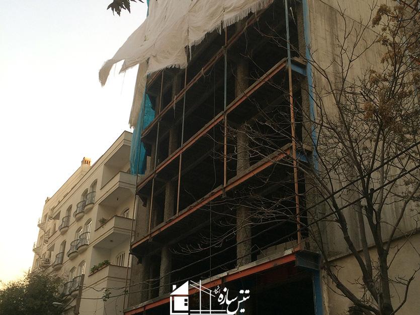 پروژه پوشش مقاوم حریق الهیه- مهدیه