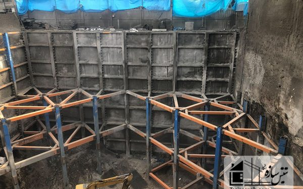 پروژه پوشش ضد حریق ساختمان پلاسکو