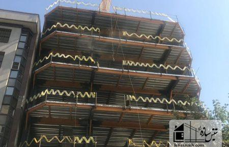 پروژه پوشش ضد حریق مسکونی شیخ بهایی