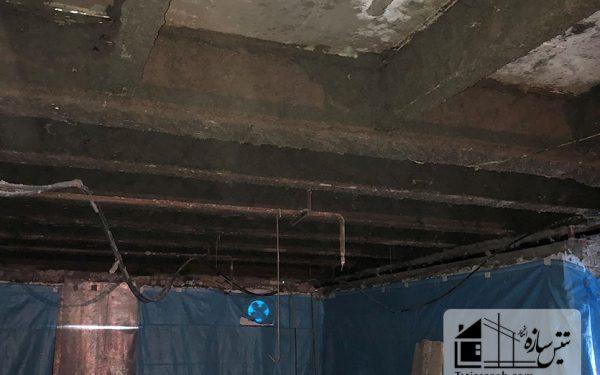پروژه پوشش ضد حریق مسکونی قیطریه-بهارشمالی