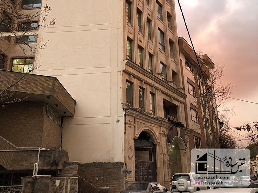 پروژه پوشش ضد حریق مسکونی کامرانیه-گلبرگ