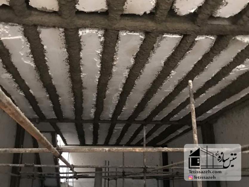 پروژه پوشش مقاوم حریق فرجام-(عظیمخودرو)